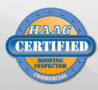 haag commercial roofing certification