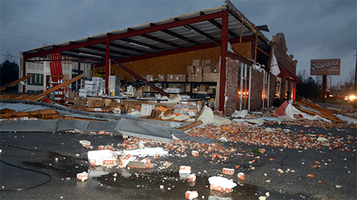 2013 Storms Causing Roof Damage